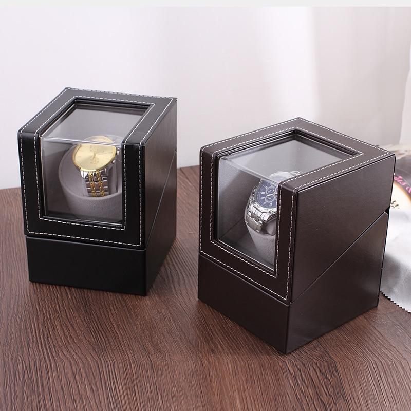 Offre spéciale!!! Luxe haute qualité montre remontoir support de montre boîte d'affichage automatique mécanique montre remontoir boîtier moteur Shaker - 4