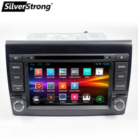 SilverStrong 2 Din android9.1 Car DVD Player 7'' Autoradio GPS Navigation For Fiat Bravo 2007 2008 2009 2010 2011 2012 Stereo
