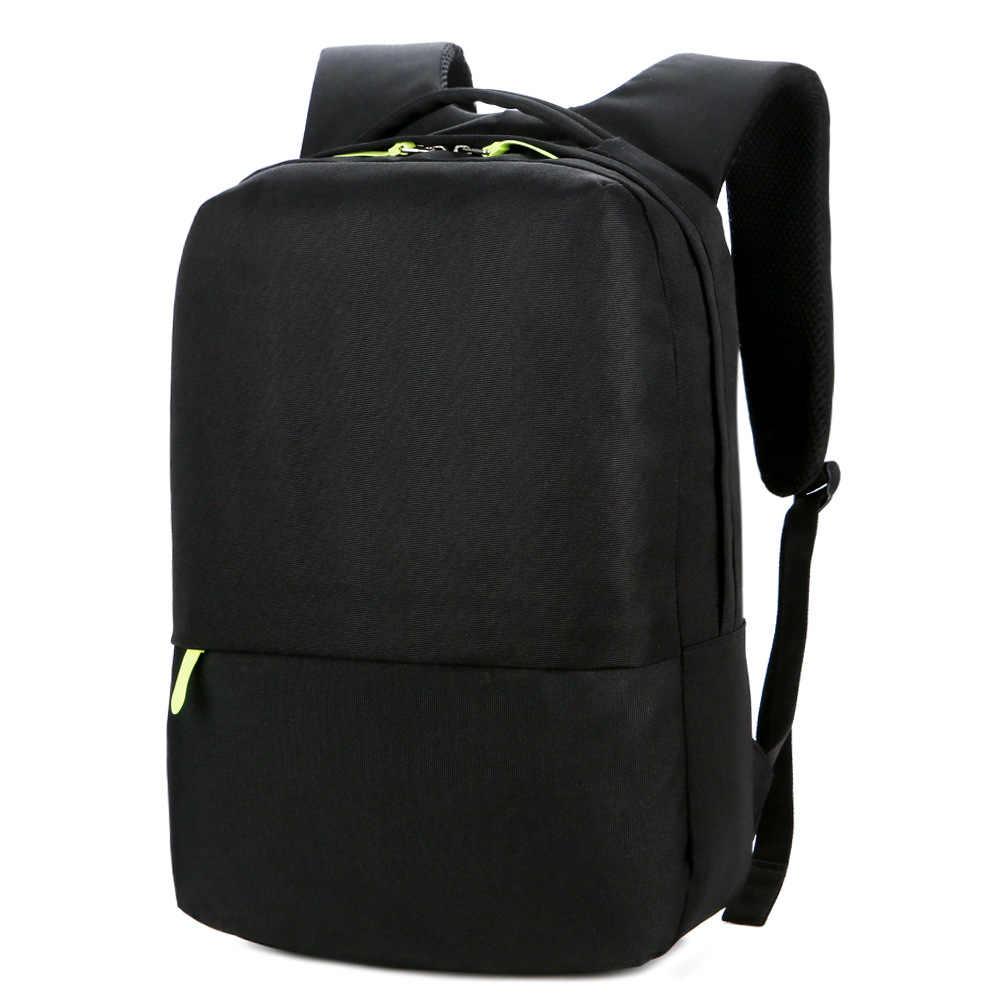 Mochila Anti-Thief Laptop Bag 13-15 pulgadas Notebook Computer Bags para Macbook Pro 13 mochila escolar bolsa impermeable