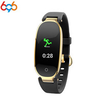 696 S3 Fashion Smart Watch Band Bracelet Girl Women Heart Rate Monitor Smart Wrist Band Lady Female Fitness Tracker Wristband