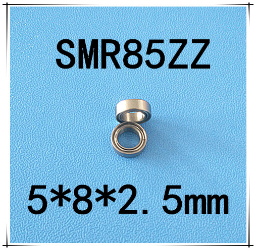 Free Shipping 10 pcs SMR85zz ABEC3 5x8x2.5mm high quality Stainless steel bearing 2pcs/lot ball bearing 5x8x2.5 maylar 24v 3000w off grid solar inverter built in 40a mppt controller with communication output 100 240vac