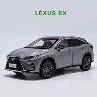 Высокая моделирования LEXUS RX200T внедорожник Коллекционная модель 1:18 advanced сплава Модель автомобиля, литья под давлением Металл игрушечн