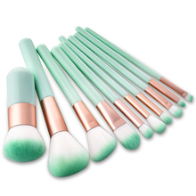 10pcs/lot Makeup Brushes Face Eyeshadow Foundation Make Up Brushes Beauty Set Blush Professional brush kit