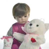 40cm Soft Silicone Reborn Dolls lol reborn baby collectible Dolls modeling princess toddler Kids Real touch bebe Xmas gifts