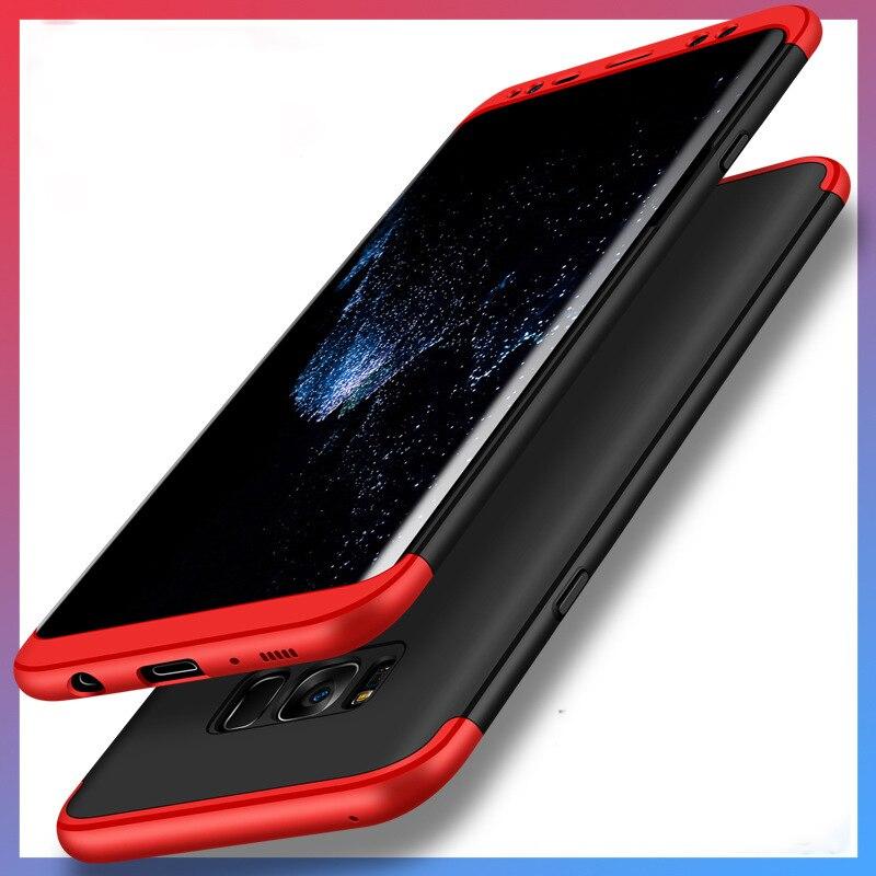 Cobertura completa del cuerpo de 360 grados para Samsung Nota 8 S8 S8 más S7 S7edge S6 S6 borde suave película casos de la cubierta protectora