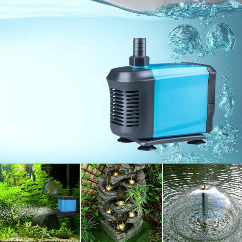 Aquarium pump submersible fountain water pump bomba for for Fish tank water pump