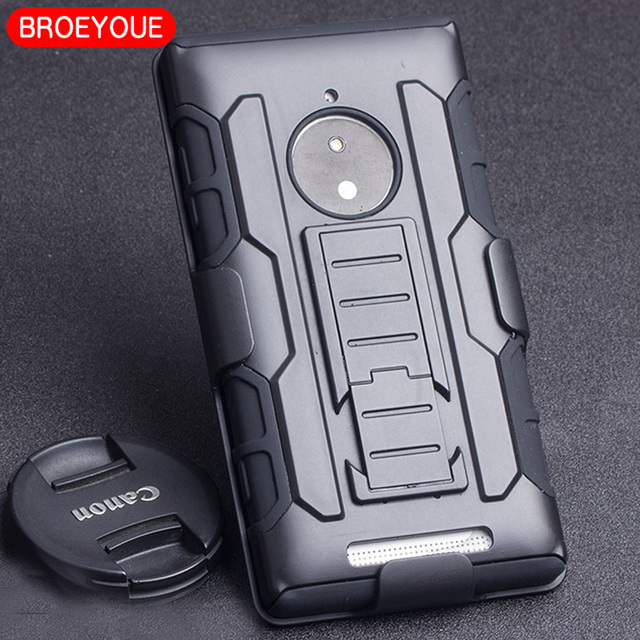 sale retailer b8be4 6046e US $4.99 |BROEYOUE Case For Nokia Lumia 830 Case Future Hard Impact Holster  Hybrid Case For Nokia Lumia 830 Phone Back Cover Cases Fundas-in Fitted ...