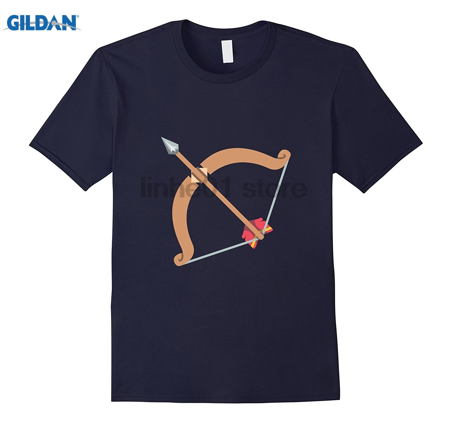 GILDAN Arc Archer Emoji Funny T Shirt Tee Archery Bow Shoot Target Hot Womens T-shirt