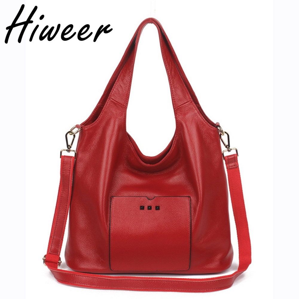 2018 Women s Handbag Soft Leather Shoulder Bag Messager Bag Casual Tote Crossbody Bag Women Handbag