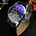Reloj de los hombres relojes yazole 2017 de primeras marcas de lujo famoso reloj de moda masculina reloj de cuarzo reloj relogio masculino hodinky