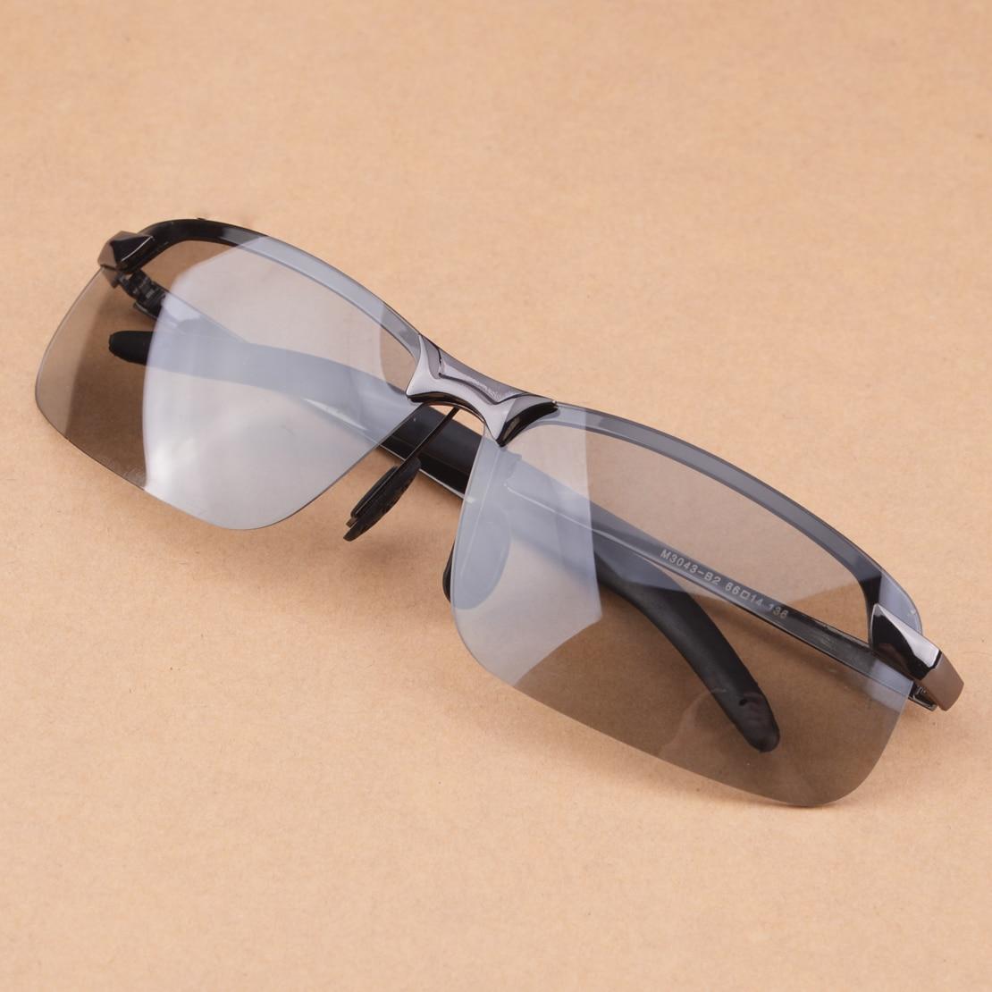HD Men UV400 Photochromic Sunglasses Is Polarized Lens Sun Glasses Universal