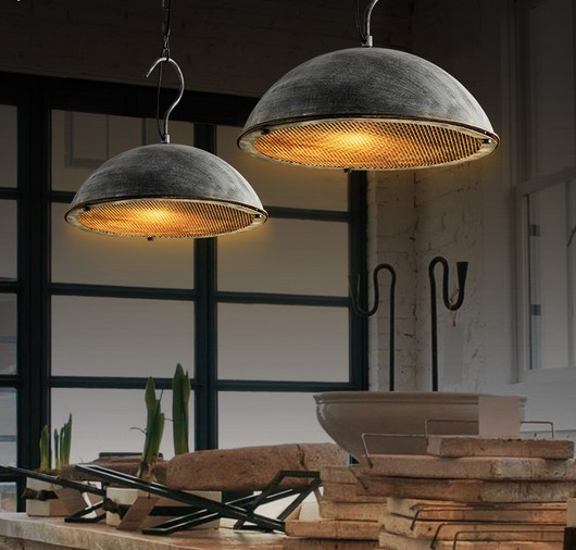 Retro Loft Style LED Pendant Light Fixtures Vintage Industrial Lighting For Dining Room Hanging Lamp Lamparas Colgantes iwhd resin vintage lamp living room led pendant light fixtures loft style industrial retro hanglamp for dining room lamparas