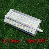 R7S LED 118 мм 78 мм 135 мм 189 мм 10 W 20 W 25 W 30 W 118 мм затемнения светодиодные лампы R7S свет J118 лампа с вентилятором AC110-240V 220 V 230 V 240 V