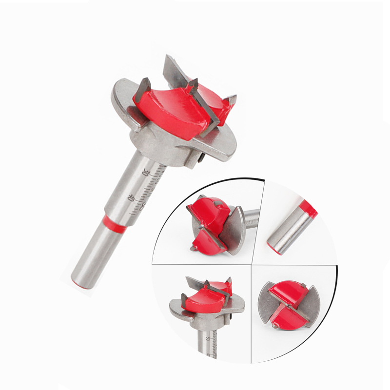 Woodworking Hole Saw Drill 35mm Carbide Auger Bit Drill Bit  Milling Cutter