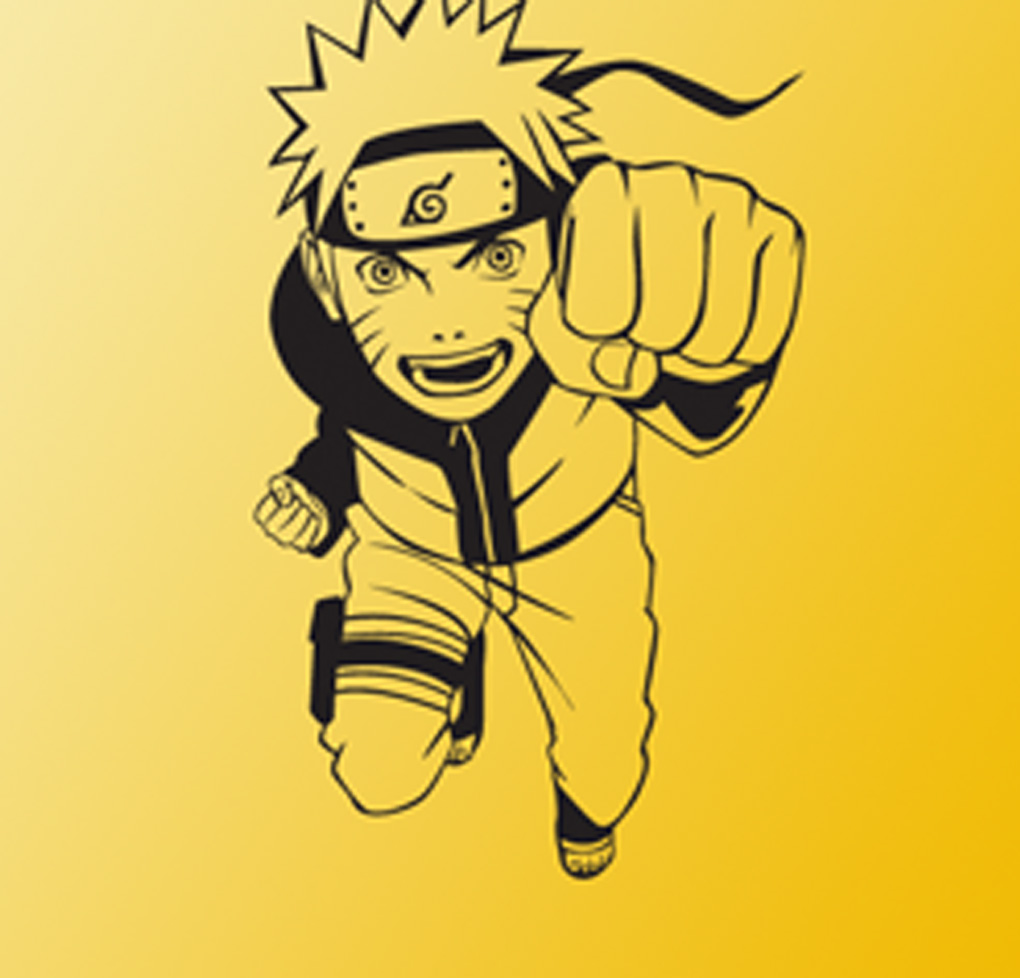 DCTAL Uzumaki Naruto Cartoon Wall Stickers Wall Decors Decal