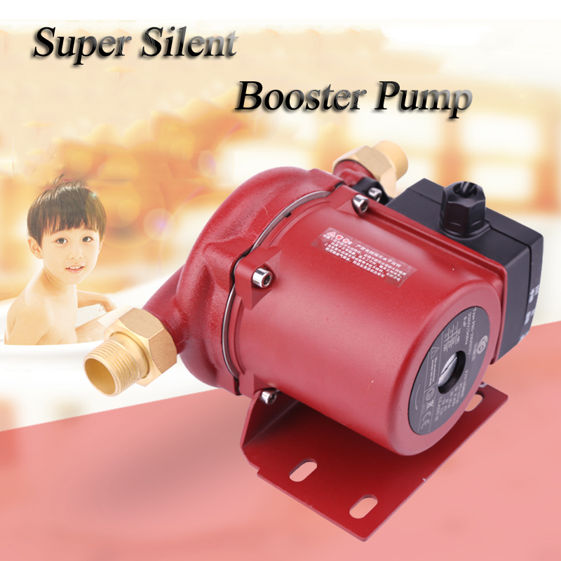 100W mini booster pump 60L/min hot water pressure booster pump for shower factory price 100w booster pressure pump 100w mini household booster water pump water circulation pressure pump for shower heating