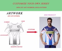 custom Men's survetement football shirt Sublimation printing personalized soccer jersey camisa futebol maillot de foot