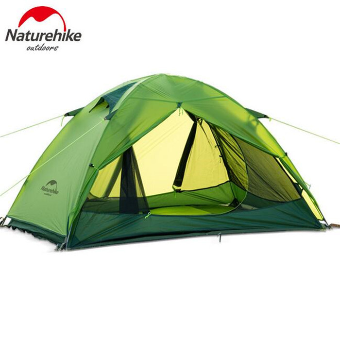 NatureHike 1-2 Person Tent Waterproof tents Double Layer Outdoor Camping Hike Travel Tent Ultralight Camping Tents outdoor camping hiking automatic camping tent 4person double layer family tent sun shelter gazebo beach tent awning tourist tent