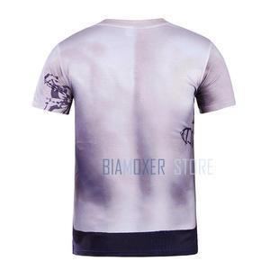 Image 5 - Biamoxer uniforme de Suicide Joker pour hommes, Costumes de Cosplay, Trench Coat veste violette t shirts Clown vert pour fête dhalloween