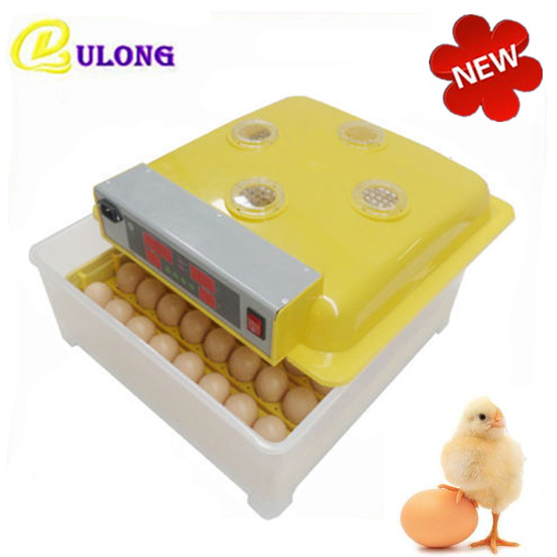 RU Stock automatic egg incubator chicken brooder electric hatcher equipment with eggs turning hatchery все цены
