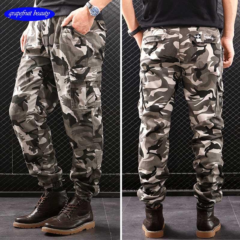 Military Tactical Cargo Pants Men Army Sweatpants Quality joggingbroek trousers Clothing calca masculina sweatpants men