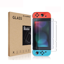 2PCS Закалене скло Ultra Clear Full HD Захисна плівка Surface Guard для Nintend Switch NS Консоль Protector Cover Skin