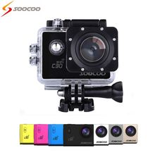 HOT SOOCOO C30 Wifi 4K Gyro Adjustable Viewing angles(70-170 Degrees) 2.0 LCD NTK96660 Diving 30M Waterproof Action Sport Camera