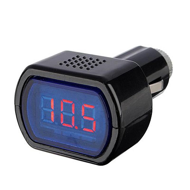 12-24V LED Cigarette Car Battery Tester Voltage Meter Voltmeter