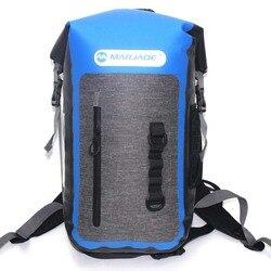 Bolsa impermeable, mochila de PVC de 25L, bolsa de almacenamiento plegable, bolsa totalmente sellada, bolsa seca para hombre y mujer, para actividades de viaje y buceo al aire libre