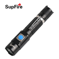 50pcs Lot High Power 18650 CREE L2 LED USB Flashlight Rechargeable Torch 1200 LM 5