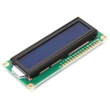 1 шт. ЖК-дисплей 1602 1602 Модуль синий Экран 16×2 символа ЖК-дисплей Дисплей модуль HD44780 контроллер синий Blacklight