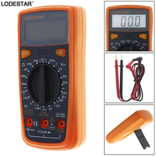 LD3801A LCD Display Handheld Digital Multimeter 1999 Counts Portable Measuring Meter Tool with Backlight and Holder цена 2017
