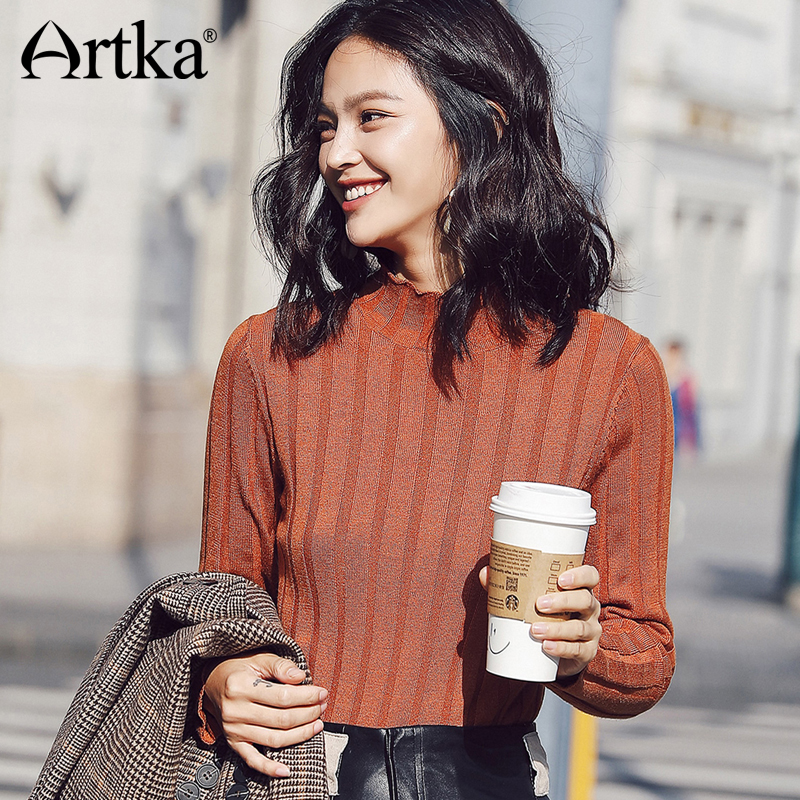 ARTKA New City Series Knitwear Sweater JS17011