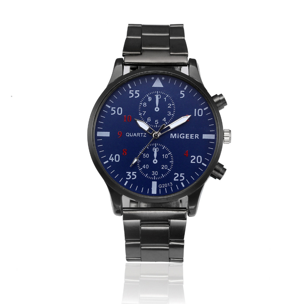OTOKY Men Watch Stainless Steel Sport Quartz Wrist Hour Watches Big Dial Watches Fashion Causal Business Classic Watches MAY14