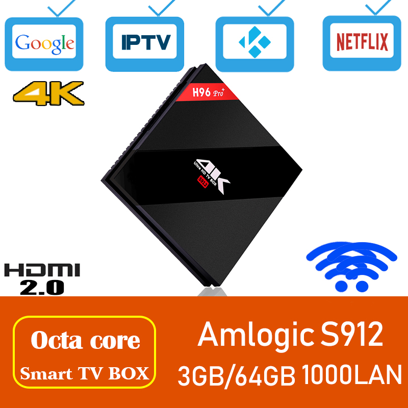 цены Xinways H96 pro plus 4gb tv box android 7.1 smart tv box 64bit Octa-core TV BOX 3GB DDR3 64GB eMMC BT4.1 4K HD android tv box
