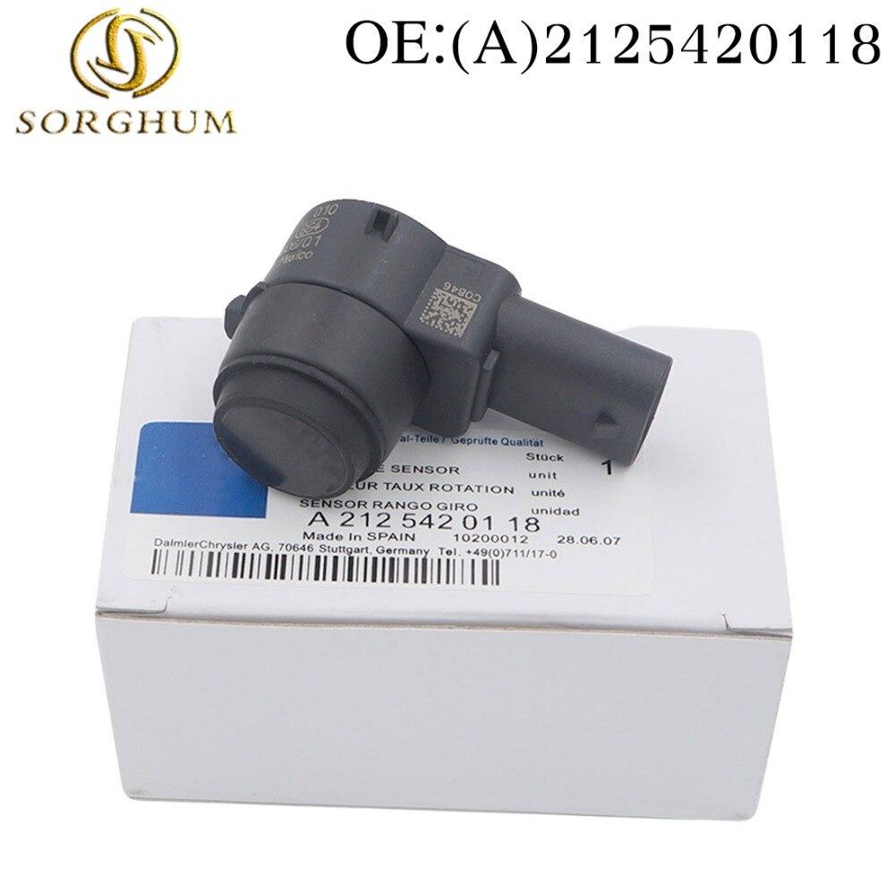 Neue A2125420118 2125420118 0263003617 Einparkhilfe PDC Sensor Für Mercedes W169 W245 W204 W212 W221 C207 A207 Parktronic Sensoren