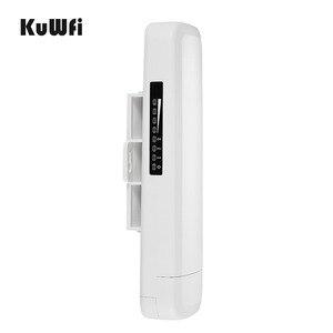 Image 4 - Km gama 3 Kuwfi 300Mbps Wi fi CPE Roteador Sem Fio 2.4G Ponto de Acesso Repetidor Extender Ponte Para Câmera LED exibir Fora