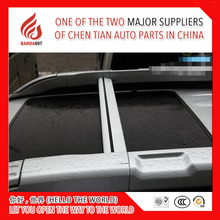 1 pair Aluminium Alloy dedicated roof cross bar for X Trail have roof rack with light