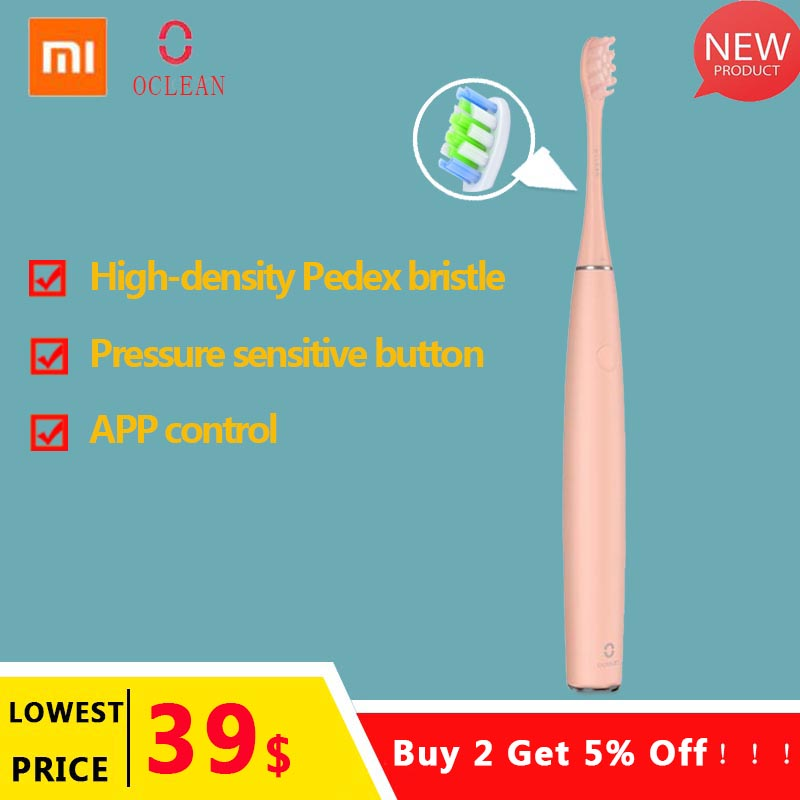 Xiaomi Oclean Air Rechargeable Sonic Electric Toothbrush APP Control Intelligent Dental Care Adult Sonic Automatic Tooth