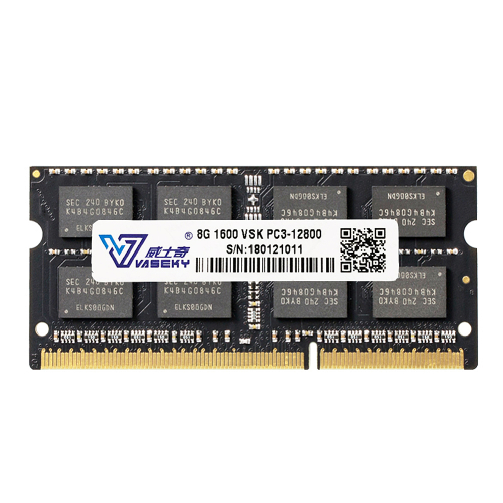 Vaseky Laptop Memory 8GB <font><b>Ram</b></font> <font><b>DDR3</b></font> <font><b>1600MHz</b></font> Memory for All Laptop image