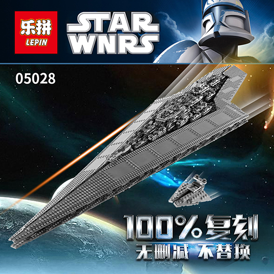 New LEPIN 05028 Star 3208Pcs Toy Wars Execytor Super Star Destroyer Model Building Kit Block Brick Compatible 10221 for Gifts 05028 star wars execytor super star destroyer model building kit mini block brick toy gift compatible 75055 tos lepin