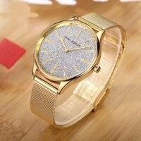2019 Luxury Women Metal Mesh Watch Simplicity Classic Wrist Quartz Ladies Watches High Quality Relogio femenino Zegarek Damski