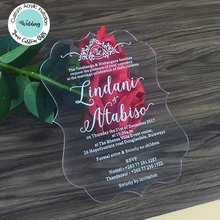 Buy Acrylic Invitations And Get Free Shipping On Aliexpresscom