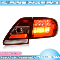 Binfu for Toyota Corolla 2011 2012 2013 taiwan Taillights LED Tail Light Rear Lamp DRL+Brake+Signal Auto Accessorie Car Styling