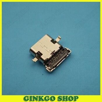200pcs Copper C Type 3.1 USB Jack Connector 24P Patch Taping USB Jack Female Plug Socket