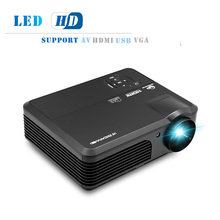 4200 Lumens LED Home Cinema Mobile Projector Full HD Video Beamer Projeksiyon Display For Smartphone iPhone