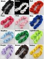 10 Rolls 25m 0.5mm Nylon Cords Thread Chinese Knot Macrame Rattail Shamballa Bracelet Braided String (U  Should Choose Color)