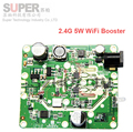 2.4G 5 W WiFi Banda Larga Sem Fio LAN Signal Booster Amplificador Repetidor Estender o Alcance do Sinal FRETE Grátis