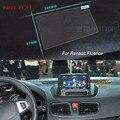 7 Pulgadas de Navegación GPS de Pantalla de Acero de Control de Pantalla LCD Película Protectora Para Renault Fluence Styling Car Sticker