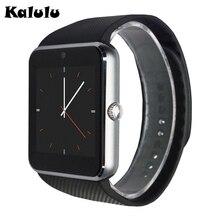 Gt08 bluetooth smart watch mit schrittzähler 350 mah batterie smartwatch für samsung s4/note2/3 htc lg android